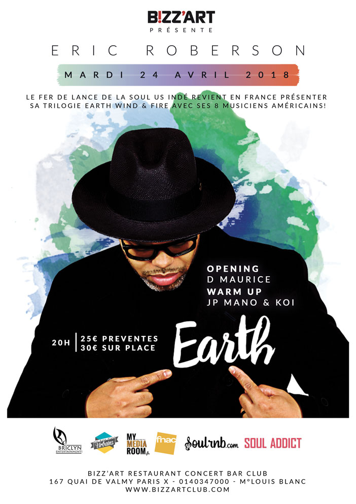 Eric Roberson · 2019 Tour Dates and Concert Tickets ...